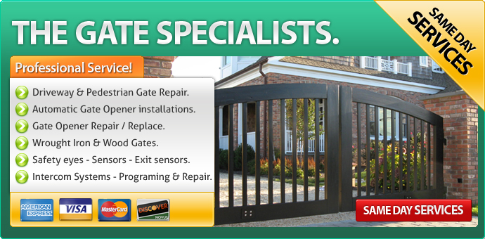 Gate Repair Woodland Hills CA